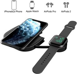 WATCH Charger Tectag 10W Fast 3 In 1 Updated Version Wireless Charging Pad For Iphone Apple Airpods Wireless Charger Station For Iphone 11 11