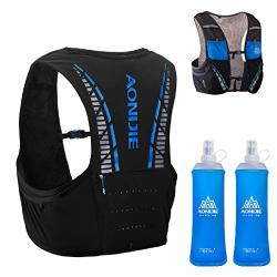 Triwonder 5L Hydration Vest For Hiking Cycling Ultra Trail Race Vest Hydration Pack Backpack Marathon Running Vest Fits Men And