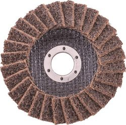 Tork Craft Flap Disc Non Woven 115x22 Coarse Tcfd Yellow