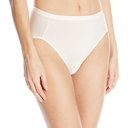 Vanity Fair Women's Intimates Vanity Fair Women's Cooling Touch Hi Cut Panty 13124 Champagne X-LARGE 8