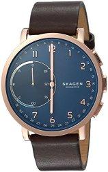 Skagen Hagen Connected Brown Leather Hybrid Smartwatch