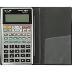Sharp EL738 Financial Calculator