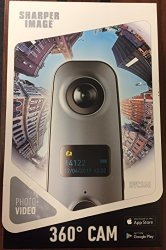 Southern Telecom Sharper Image SVC360 Panoramic 360 Camera Full HD High Resolution Video Capture Spherical View