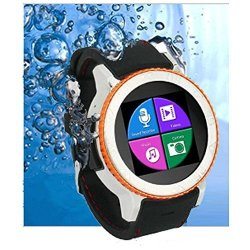 InDigi Waterproof Android 4.4 Touch Screen 3G Smart Watch Phone At &t T-mobile Unlocked Smart Watche