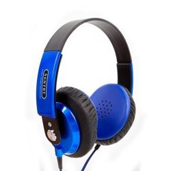 Sentry Platinum In-line MIC Stereo Headphones HS862 - Blue