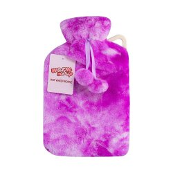 Hot Water Bottle W cover 2L W pow - Violet