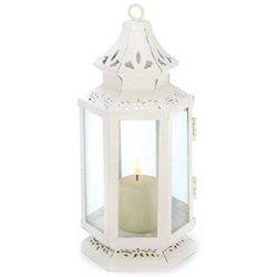 Small White Victorian Lantern