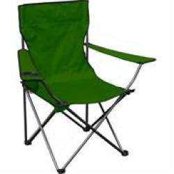 Totally Camping Chair Green Retail Box Out Of Box Failure Warranty.specifications:• Colour S : Green • Material: 600D• Size: 45