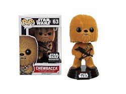 Funko Pop Star Wars Flocked Chewbacca Smuggler's Bounty Exclusive 63 By Opp