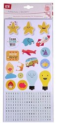 Mp PD043-05SET Of Labels Stickers For Crafts