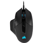 Corsair Nightsword Rgb Performance Tunable Fps moba Gaming Mouse Black Backlit Rgb LED 18000 Dpi Optical