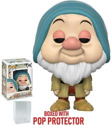 USAD Funko Pop Disney: Snow White And The Seven Dwarfs - Sleepy Vinyl Figure Bundled With Pop Box Protector Case