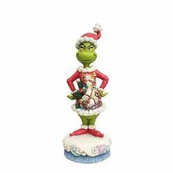 Enesco Grinch By Jim Shore Grinch With Santa Scene