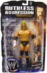 Jakks Wwe Wrestling Ruthless Aggression Action Figure Hhh Dx Outfit With Bonus Micro Figure
