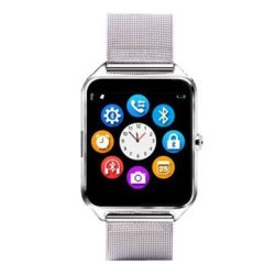 Z60 1.54INCH Pedometer Sedentary Remind Tf Card GSM Camera Bluetooth Smartwatch F
