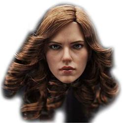 "Hiplay 1 6 Scale Female Figure Head Sculpt Beauty Charming Girl Doll Head For 12"" Action Figure Phicen Tbleague HP002"