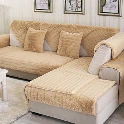 Ostepdecor Velvet Plush Furniture