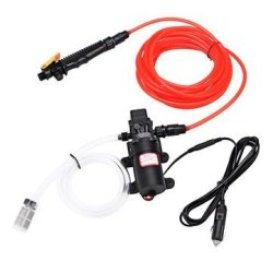100W 1.0MPA 12 24V High Electric Pressure Car Washer Wash Pump Water Sprayer Kit Voltage: 12V