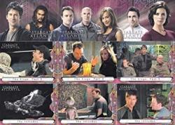 Stargate Atlantis Season 2 Two 2006 Rittenhouse Complete Base Card Set Of 72 Tv