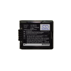 Battery Replacement for PANASONIC HDC-SD707 HDC-SD8K HDC-SD9 HDC-SD9-8GB HDC-SDT750 HDC-SDT750K HDC-SX5 HDC-SX5EB-S HDC-SX5GCS-S HDC-SX9 HDC-TM10 HDC-TM10K VW-VBG130