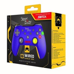 - Wired Controller - Gamecube Purple Nintendo Switch