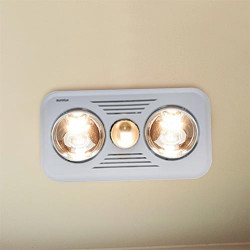 Eurolux 2 Light Ceiling Mount Bathroom Heater | Reviews ...