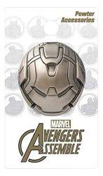 Monogram International Marvel Iron Man Hulkbuster Head Deluxe Pewter Lapel Pin