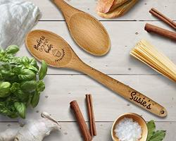 Spoon Engraved Kitchen Gifts Baking Gifts Gift For Him Wooden Wooden Utensils Personalized Gift For Mom Small Christmas Gift Unique Gift