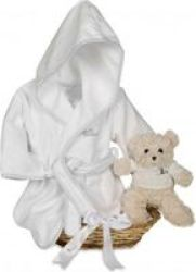 Bebedeparis Teddy Spa Hamper in Grey