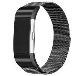 Zonabel Fitbit Charge 2 Milanese Strap - Black Large