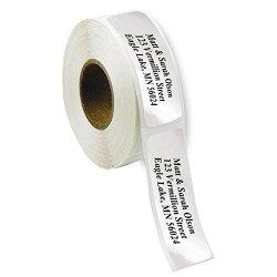 Artistic Labels Silver Foil Rolled Address Labels