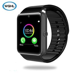 WGHL Wearable Bluetooth Touch Screen Smart Watch With Camera And Sim Card Slot For Android Samsung H