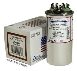 AmRad Goodman B9457-8700 - 30 + 5 Uf Mfd 370 440 Volt Vac Round Dual Run  Capacitor Made In The U s a  | R1065 00 | DIY Hardware | PriceCheck SA