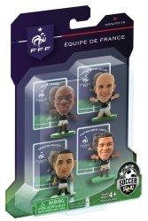 Soccer Stars France Representative 2014 A Pack 4 Pieces Brazil World Cup 2014 Soccerstarz
