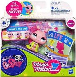 Hasbro Littlest Pet Shop Walkables Snail Figure 2125 Pink