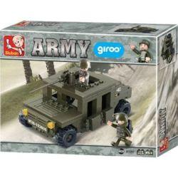 Sluban Army - Land Forces II Hummer Squadcar