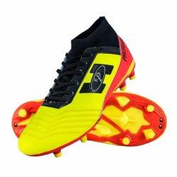 Premier Sportswear Premier Atletico Sockfit Soccer Boots Yellow orange black