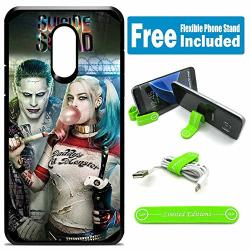 Limited Editions For LG Aristo Aristo 2 Aristo 2 Plus Tribute Dynasty Hybrid Rugged Hard Cover Case - Joker Harley Quinn Real Bubble