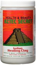 Aztec Secret Indian Healing Bentonite Clay 2 Pound Pack Of 2