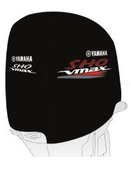 OEM Yamaha Heavy-duty V6 Vmax Sho Outboard Motor Cover Mar-mtrcv-er-sh