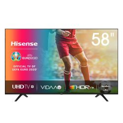 """HISENSE 58"""" 4K Uhd Hdr Smart LED Tv"""