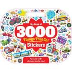 My Book Of 3000 Things That Go Stickers