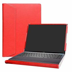 """Alapmk Protective Case Cover For 13.9"""" Huawei Matebook X Pro 2018 Huawei Matebook X Pro 2019 Series Laptop Warning:not Fit Matebook 14 MATEBOOK 13 MATEBOOK X matebook D Red"""