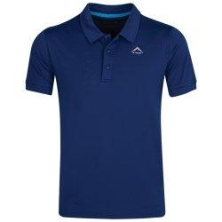 K-Way Men's Leith Golfer - Blue light Blue