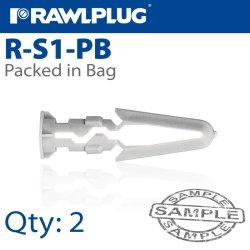 Rawlplug Pls Toggle 7MMX35MM X2-BAG Raw R-S1-PB-2