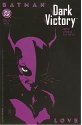 """Batman Dark Victory 5 Love 6.5 X 10"""" Print"""