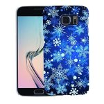 Eunomia Christmas Winter Snowflake Case Cover For Iphone 6 7 8 Huawei Mate 8 9 P9 Xiaomi - For Samsung Galaxy S8 Plus