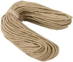 USA Dragon Sonic 100% Natural Hemp Rope 6MM 50 Meters 164 Ft For Arts Crafts Diy Decoration A