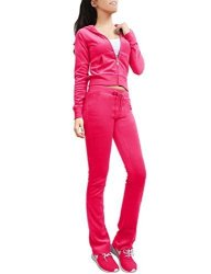 NE People Womens Casual Basic Velour terry Zip Up Hoodie Sweatsuit Set