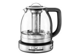 Deals On Kitchenaid Artisan Glass Tea Kettle 1 5 Litre